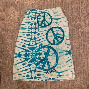 Justice girls towel wrap